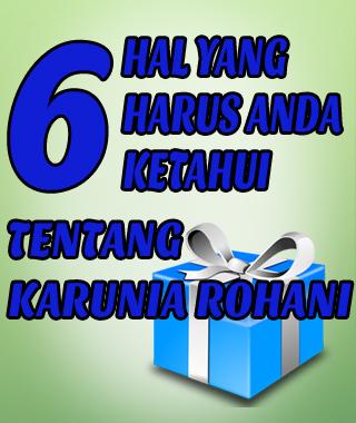 6 karunia rohani