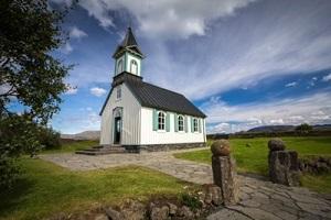 small-church-blue-sky