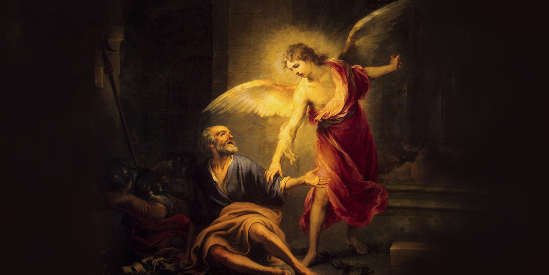 Petrus dilepaskan malaikat